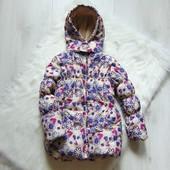 Яркая демисезонная куртка для девочки. Infinity Kids. Размер 6 лет. Состояние: новой вещи