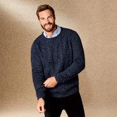 Мужской вязаный свитер р.M Livergy Германия