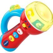 VTech развивающий интерактивный фонарик spin and learn color flashlight
