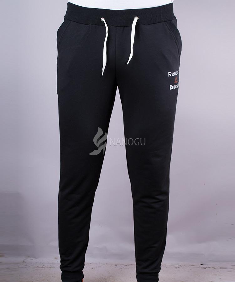 a518d9fd Спортивные штаны reebok мужские на манжетах черные, цена 225 грн ...