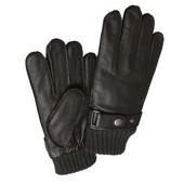 Фирменные мужские кожаные перчатки