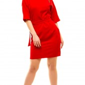 Размеры 50-56 Элегантное женское яркое платье