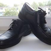 Туфли мужские натуральная кожа Clarks р.43
