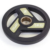 Блины полиуретановые (диски полиуретановые) с хватом и металлической втулкой 5344-5: вес 5кг