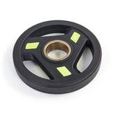 Блины полиуретановые (диски полиуретановые) с хватом и металлической втулкой 5344-2,5: вес 2,5кг