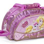 Детская дорожная сумка Принцессы Дисней Королевские Питомцы розовая