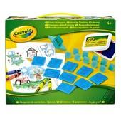Crayola Набор для творчества со штампами На Ферме Farm Stamper kit