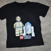 футболка на 5-6 лет Lego Star Wars Англия Хлопок