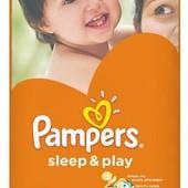 Памперсы sleep&play 5 11 - 18 кг , 58 шт.