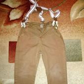 Штаны джинсы горчичного цвета, бренд zara
