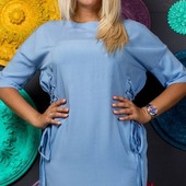 Размеры 48-54 Стильное летнее женское платье