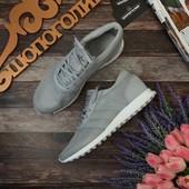 Мужские кроссовки Adidas в однотонной расцветке с дышащим верхом  SH2859