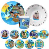 Детский набор посуды Пираты, 3 предмета