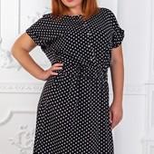 Размеры 50-56 Летнее легкое женское платье