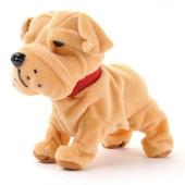 Интерактивный щенок породы шарпей.