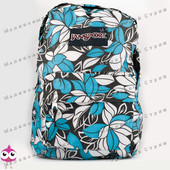 Молодежный рюкзак JanSport-102, 40х30х15см, наружный карман, уплотненная спинка, школьный рюкзак