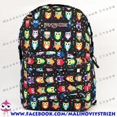 Молодежный рюкзак JanSport-103, 40х30х15см, наружный карман, уплотненная спинка, школьный рюкзак