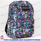 Молодежный рюкзак JanSport-106, 40х30х15см, наружный карман, уплотненная спинка