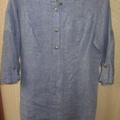Льняная рубашка для беременных