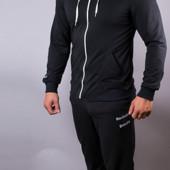Мужской спортивный костюм Reebok с капюшоном