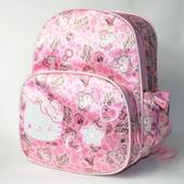 Детский рюкзак hello kitty нежно розовый котики 2768