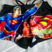 Плавки Супермен на 5-8 лет
