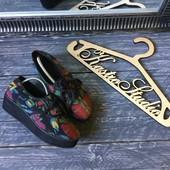 Яркие туфли-мокасины на платформе Office , р-р 38