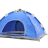 Палатка-автомат с автоматическим каркасом двухместная SY-A02-BL: размер 2х1,5х1,1м