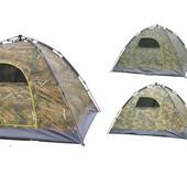Палатка-автомат с автоматическим каркасом четырехместная SY-A08-HG: размер 2х2,1х1,45м