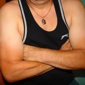Фирменная спортивная Майка -борцовка мужская Slazenger л