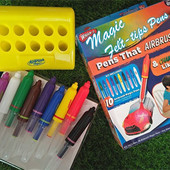Набор Волшебных Аэрофломастеров Magic Pens