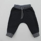 Спортивные штаны на мальчика 9-12 месяцев рост 80 см