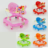 Детские ходунки музыкальные модель 528