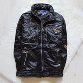 Стильная демисезоннная куртка для парня. Ini style. Размер 10-11 лет. Состояние: новой вещи
