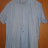 Рубашка короткий рукав Taylor&Wright 46 ворот большой размер