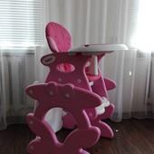 Продам стульчик и стол для кормления ребенка