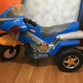Мотоцикл Geoby на аккумуляторе