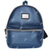 Женский рюкзак - сумочка синего цвета (Р-12)