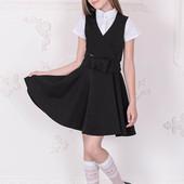 Школьный сарафан для девочек DL1-041