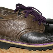 кожаные туфли 26.5 см