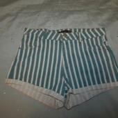 Pull & Bear шорты джинсовые стильные модные р12