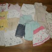 Пакет вещей девочке 3-4 г