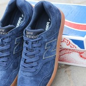 Кроссовки кеди   New balance   темно-сині,