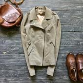 Натуральная замшевая куртка-косуха Only р-р С