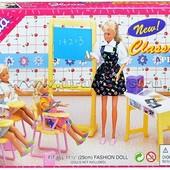 Набор мебели для кукол Школа Gloria Classroom 9916