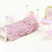Набор мебели для кукол Gloria Спальня 2319