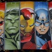 Разные фирменные наволочки детские для постелей Супер герои разные