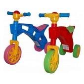 Каталка толокар, велосипед, ролоцикл  Технок
