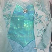 Платье Эльзы  холодное сердце 6-8 лет