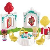 Fisher Price Маленькие человечки день рождения CBY94 little people birthday party